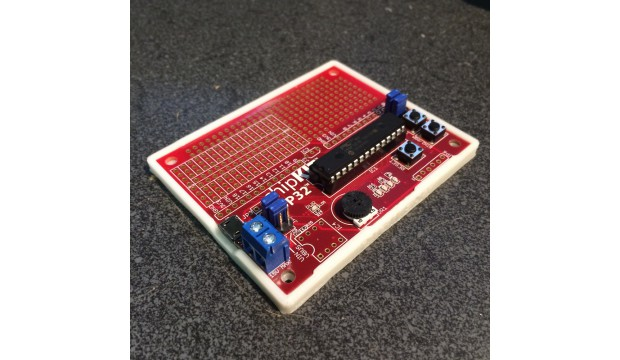 chipKIT DP32 with 3D printed bumper